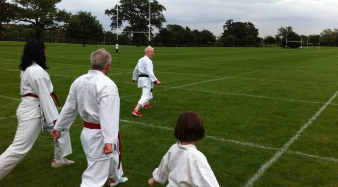 Outdoor Training at Harrow School, August 2011