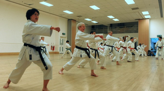 Last training of the Year and Club Grading, December 2010