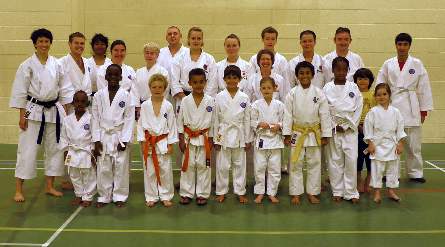 JKA European Champions Visit Shiranamikai, September 2010
