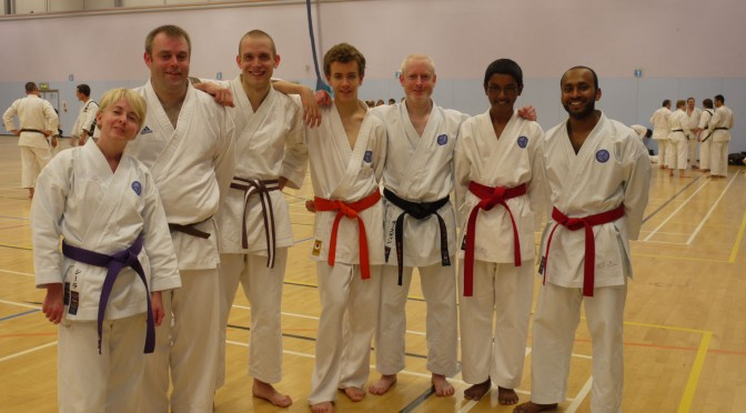 JKA England All Grades Course, October 2010
