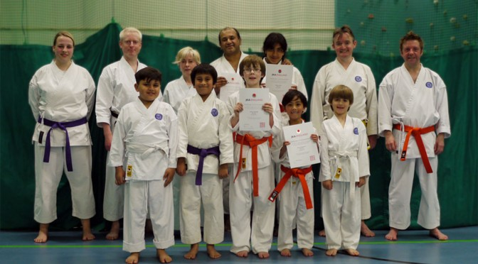 Club Training & Grading, April 2011