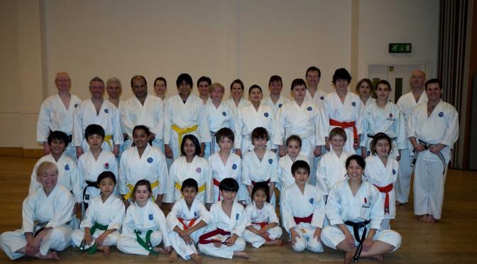 Sensei Sue Waughman Visits Shiranamikai, 14th February 2012