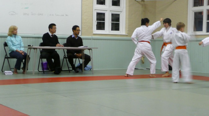 Kyu Grading at The Budokwai, December 2009