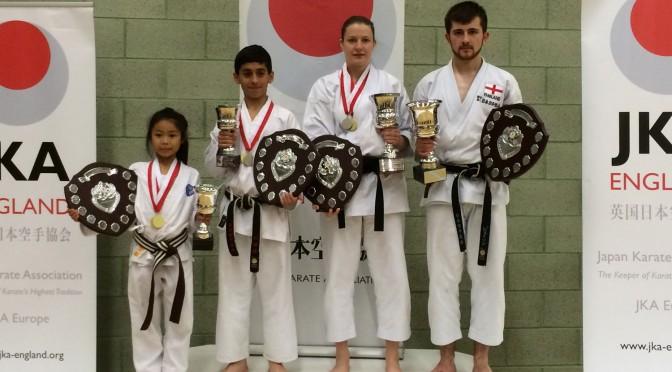 JKA England 2014 National Championship