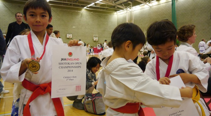 JKA England Shotokan Open Championship 2014