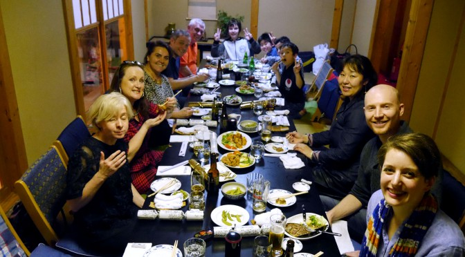 Shiranamikai Christmas Dinner