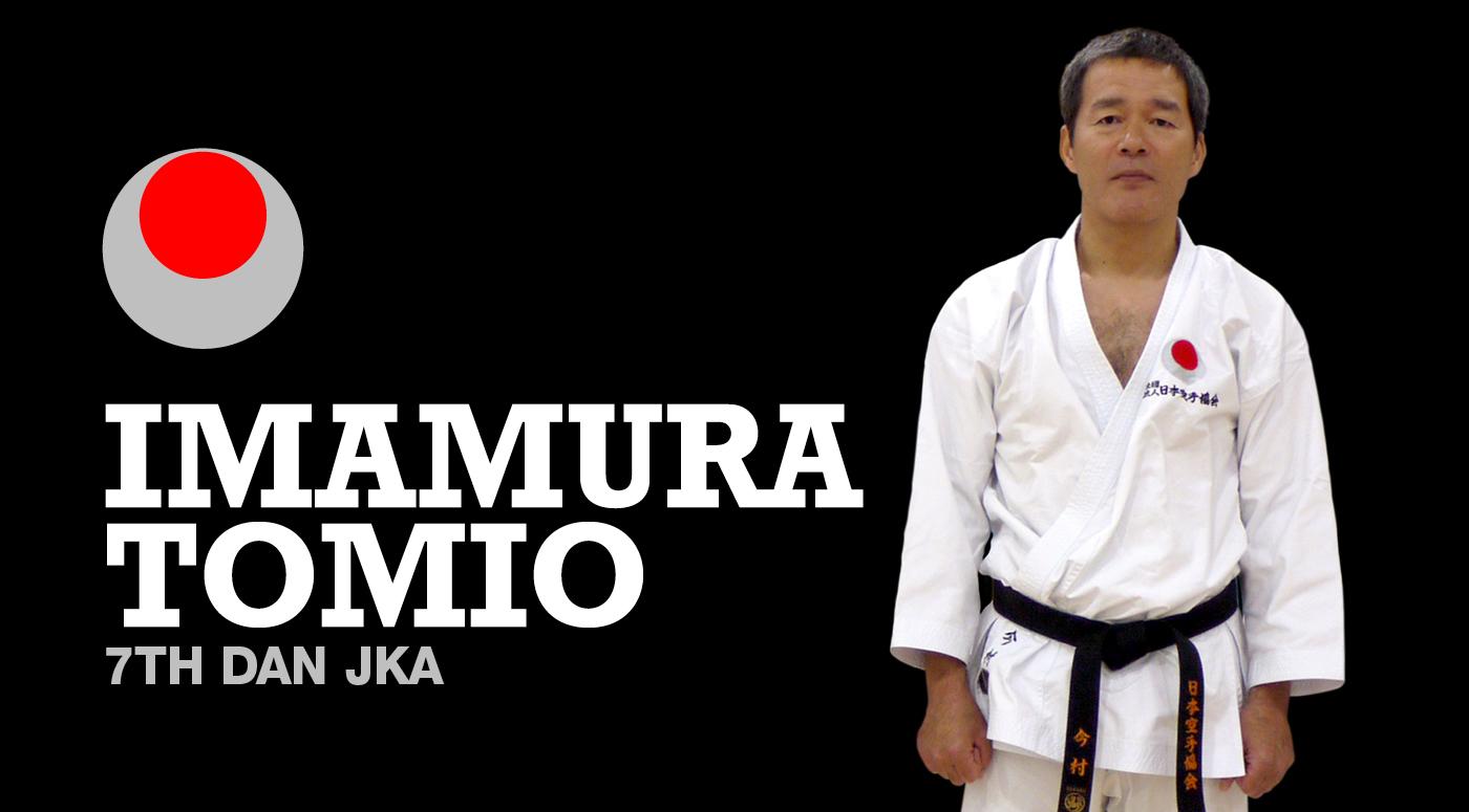Imamura Tomio Sensei 7th Dan Visits Shiranamikai