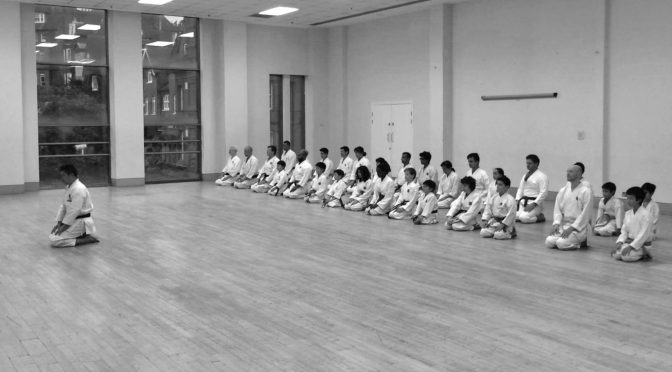 Special Club Training Session & Grading, September 2016