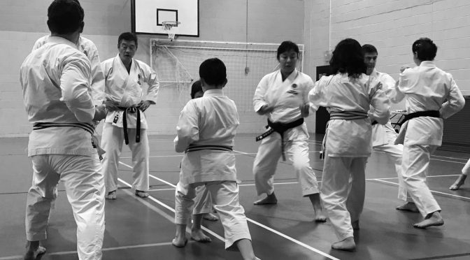 Club Training & Grading, December 2017