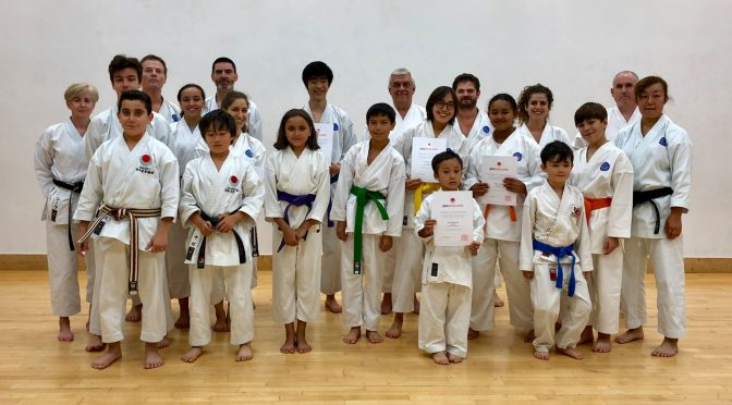 Club Training & Grading, September 2018