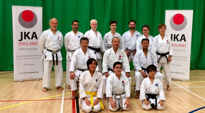 Japan Karate Association in England 2018 Winter Gasshuku