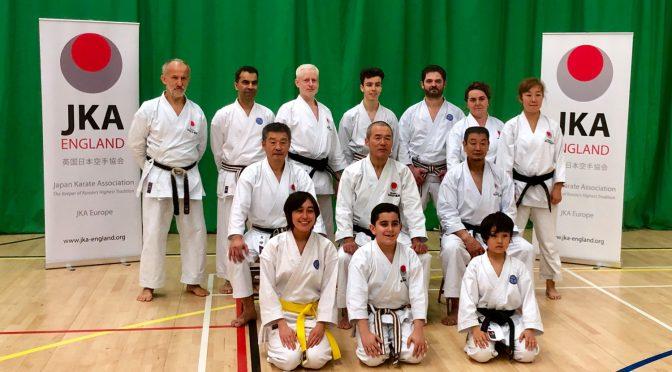 Japan Karate Association in England 2018 Winter Gasshuku