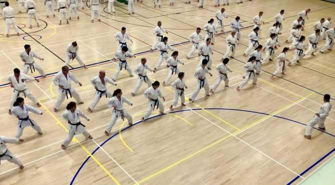 Japan Karate Association in England 2019 Spring Gasshuku