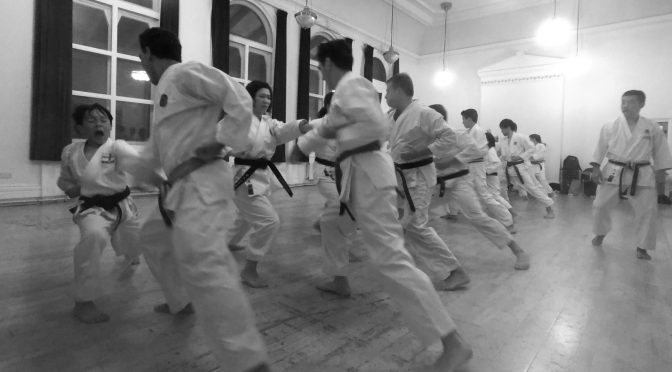Special Training & Grading with Ohta Sensei, 27th September 2019